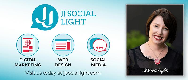JJ Social Light Banner Ad